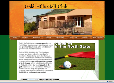 Gold Hills Golf Club - Redding, CA